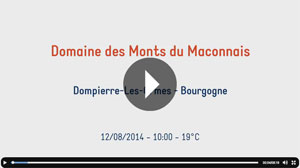 Check out the Domaine des Monts du Maconnais video now